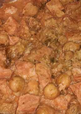 Χοιρινό με λαχανάκια Βρυξελλών