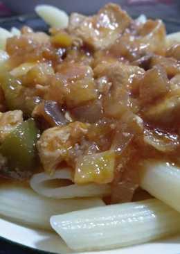 Σάλτσα λαχανικών με κοτόπουλο
