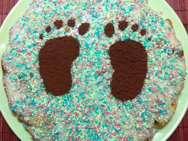 Περπατόπιτα κέικ