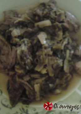 Φρικασέ μούρλια χωρίς κρέας