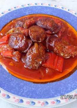 Σπετσοφάι με πιπεριές Φλωρίνης