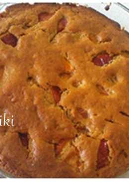 Κέικ ολικής αλέσεως με φρούτα