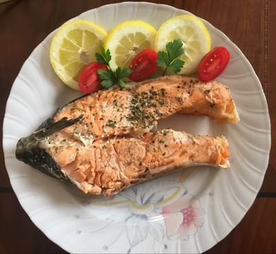 #ψάρι σολομος πανεύκολο στο πι&φι!