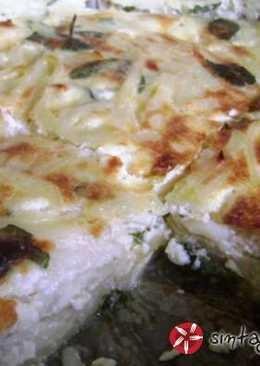 Μακαρονομελέτα φούρνου