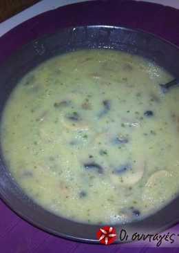 Μανιταρόσουπα βελουτέ