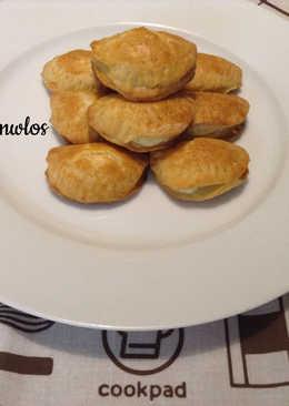 Ζύμη κουρού με ελαιόλαδο - Τυροπιτάκια