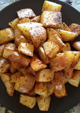 Πατάτες ψητές πανεύκολες