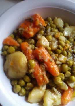 Αρακάς με καρότο & πατάτα