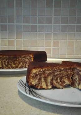 Κέικ της κουμπάρας (ινδοκάρυδο-κακάο)