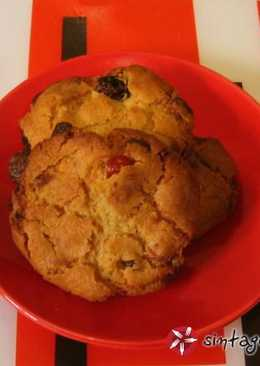 Cookies με λευκή σοκολάτα και ξηρούς καρπούς