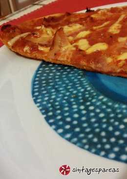 Ιταλική πίτσα με τραγανιστή ζύμη