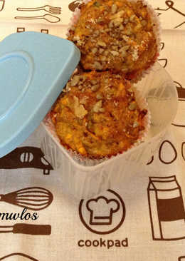 Muffin γλυκοπατάτας
