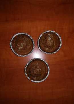 Κέικ σοκολάτα-μπανάνα-ινδοκάρυδο