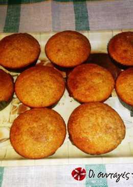 Μuffins γλυκοπατάτας με τραγανή κρούστα κανέλας