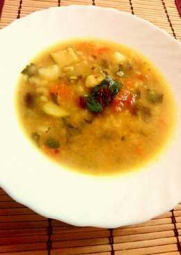 Θρεπτική χορταστική χειμωνιατικη σούπα Λαχανικών του Δημήτρη