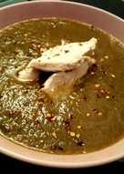 Σούπα βελουτέ με λαχανικά και κοτόπουλο