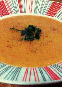 Σούπα λαχανικών βελουτέ