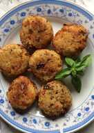 Μπιφτεκάκια ρυζιού