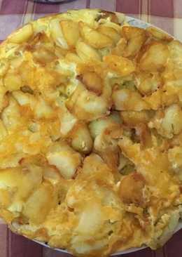 Ομελέτα (φουρτάλια) στο τηγάνι Αντώνης