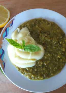 Σούπα από ροβίτσα με πουρέ πατάτας