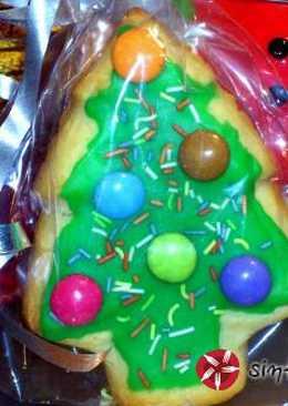 Λαμπερό σμάλτο-γλάσο για μπισκότα