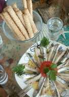 Γαύρος μαρινάτος για την παρέα του ούζου και του τσίπουρου!! 🍣