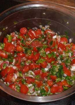 """Pico de gallo"". Μεξικάνικη και δροσιστική σαλάτα"