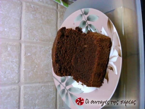 Νηστίσιμο κέικ σοκολάτα λαχταριστό