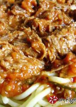 Αυθεντική σάλτσα ραγού μπολονέζ