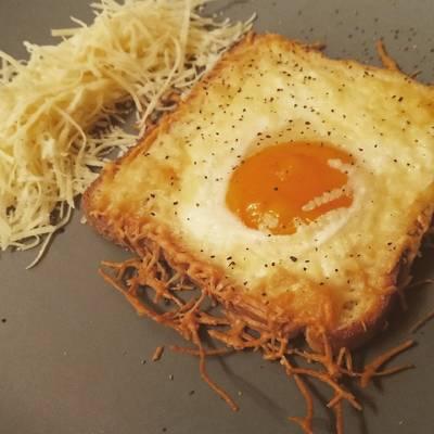 Τοστ με αυγό!!