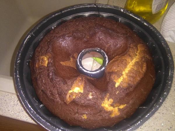Κέικ μαρμπε με καστανή ζάχαρη και χωρίς αυγά…