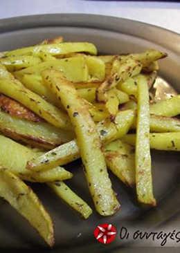 Τηγανητές πατάτες χωρίς τύψεις!!!!