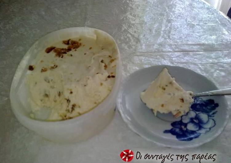 Παγωτό βανίλια- σοκολάτα