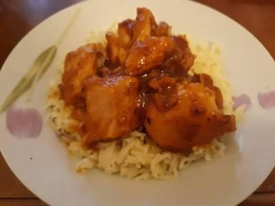 Υπερτέλειο κοτόπουλο με σάλτσα μουστάρδας με μέλι