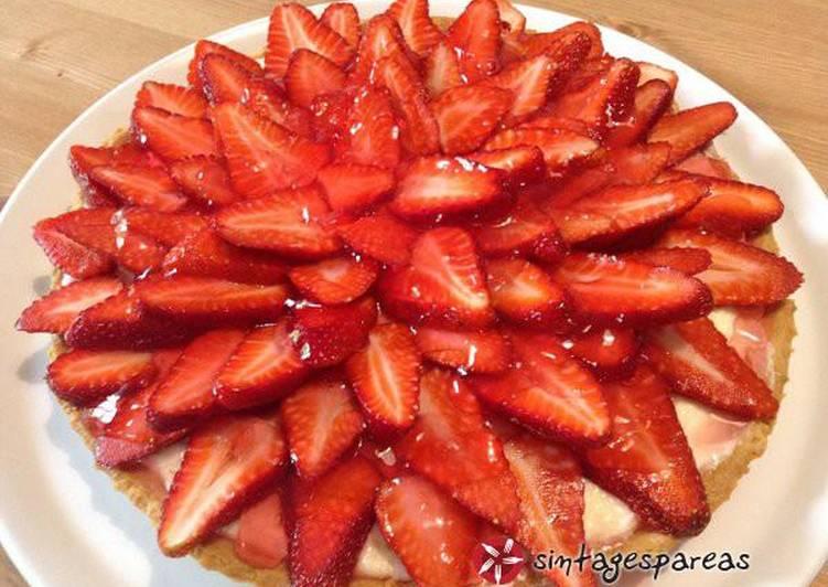 Τάρτα φράουλα και για στερημένους