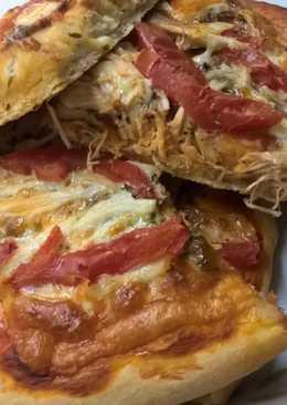 Η ευκολότερη ζύμη για πίτσα.
