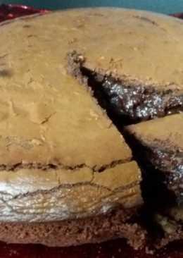 Κέικ με 3 υλικά (σοκολατόπιτα)