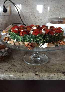 Σαλάτα σπανάκι τούρτα (της Βίκυς)