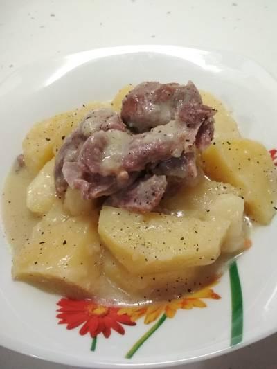 Γαζουμάκια μαγειρεμένα με λεμόνι!!