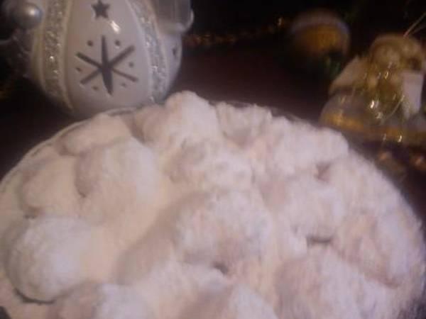 Χιονισμένοι κουραμπιέδες