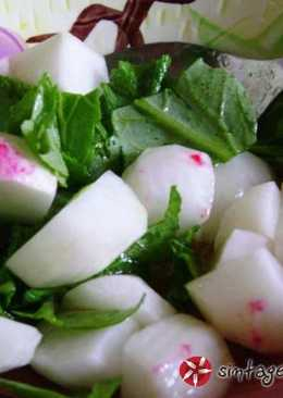 Ραπανάκια με λαδολέμονο