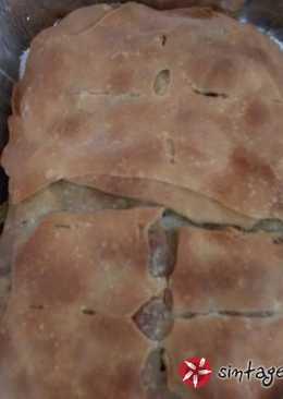 Σπανακόπιτα νηστίσιμη με χωριάτικο φύλλο