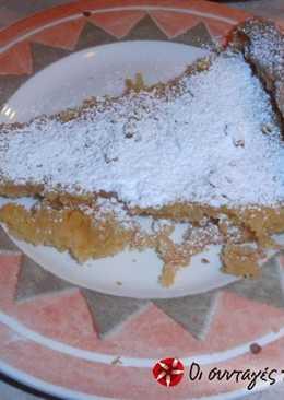 Τάρτα al limone, με τραγανή και τριφτή ζύμη
