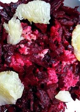 Παντζαροσαλάτα με φρέσκο ginger
