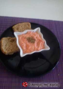 Καλοκαιρινό κολατσιό (ντιπ ντομάτας)