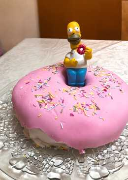 Madeira Cake donut