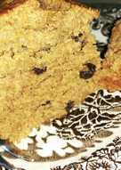 Νηστίσιμο κέικ με μπανάνες και σταφίδες
