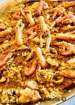 Paella 🥘 θαλασσινών από την Μαρι