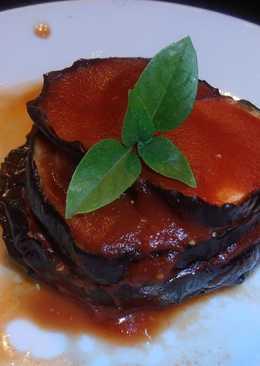 Parmigiana μελιτζάνας. Για τον κανακάρη σας που προσπαθεί!🍆