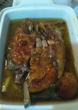 Κατσικάκι στο φούρνο